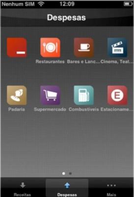Aplicativo para IOS e Android Finance