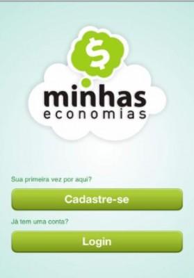 Aplicativo para IOS Minhas economias