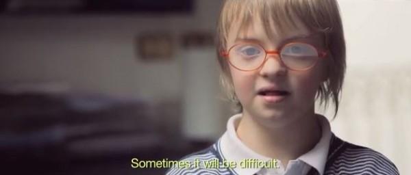 Sdonw4 600x256 Campanha sobre Síndrome de Down emociona o mundo
