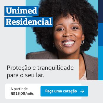 Unimed Residencial. Proteção e tranquilidade para o seu lar.