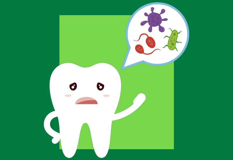 Dentes não saudáveis