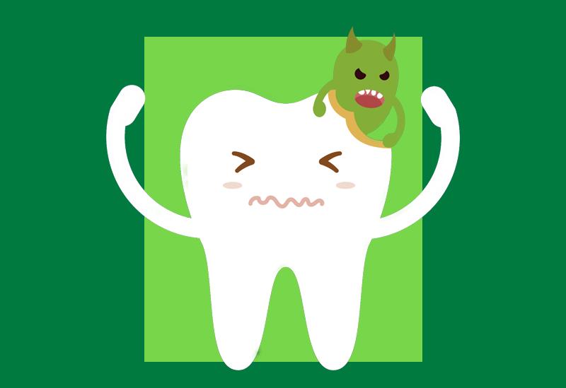 Qual a solução para acabar com cáries nos dentes?